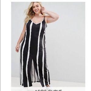 ASOS Dresses - Asos dress - worn once - front slit